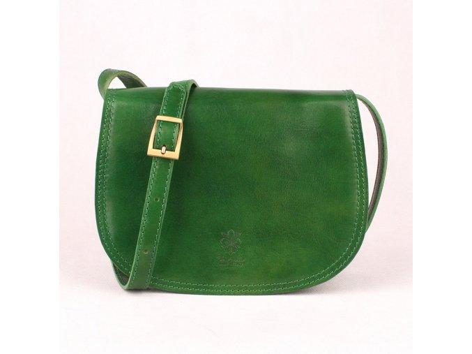 Crossbody kabelka no. 49 zelená