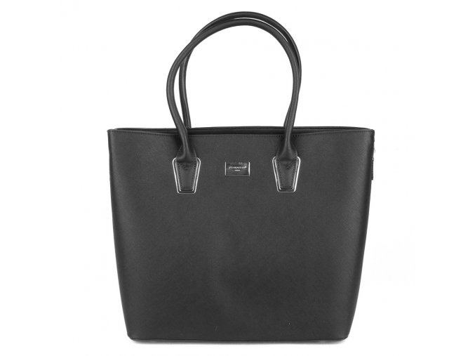 Velká pevná elegantní kabelka FLORA&CO F9246-1 černá