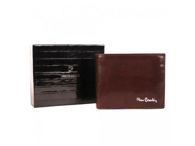 Peněženka Pierre Cardin 324A-YS520.7 tmavohnědá