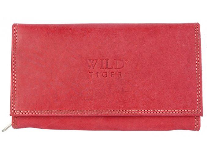 Peněženka Wild Tiger červená
