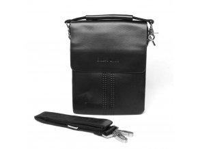 Malá pánská crossbody taška Filippo Lucci FL6020-1 černá