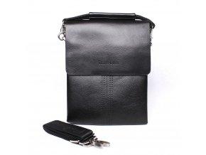 Středně velká pánská crossbody taška Filippo Lucci FL6020-2 černá