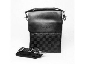 Malá pánská crossbody taška Filippo Lucci FL6022-1 černá
