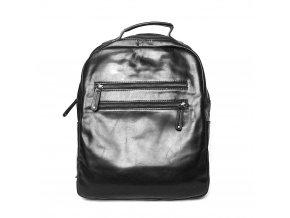 Velký pánský luxusní batoh Marta Ponti, obsah až 14l černý