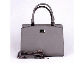 Elegantní kabelka do ruky FLORA&CO F6346 šedá
