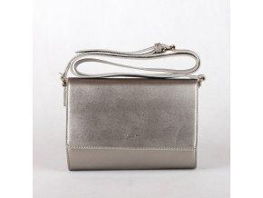 Stříbrná crossbody kabelka David Jones CM3401
