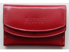 Peněženka SANCHEZ Casual červená