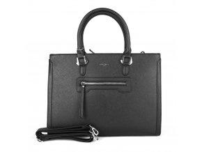 Velká elegantní kabelka do ruky David Jones CM3902 černá