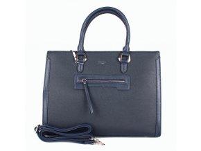 Velká elegantní kabelka do ruky David Jones CM3902 tmavěmodrá