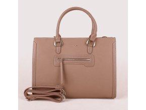 Velká elegantní kabelka do ruky David Jones CM3902 tmavěrůžová