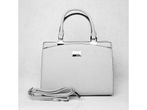 Elegantní kabelka do ruky FLORA&CO F6346 světlešedá
