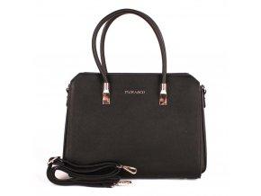 Elegantní kabelka do ruky FLORA&CO F6519 černá