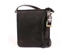 Unisex crossbody taška no. 48 černá