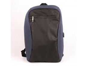 Velký batoh David Jones PC-033 s 20l obsahem a USB modrý