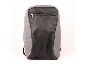 Velký batoh David Jones PC-033 s 20l obsahem a USB šedá