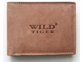 Peněženka Wild Tiger světlehnědá