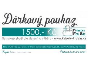 POUKAZ KPV 1500