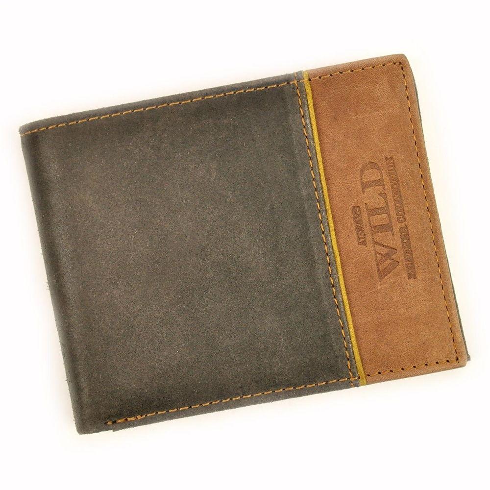 Pánská kožená peněženka Always Wild N992-SHS + RFID hnědá   KabelkyproVas.czkrp