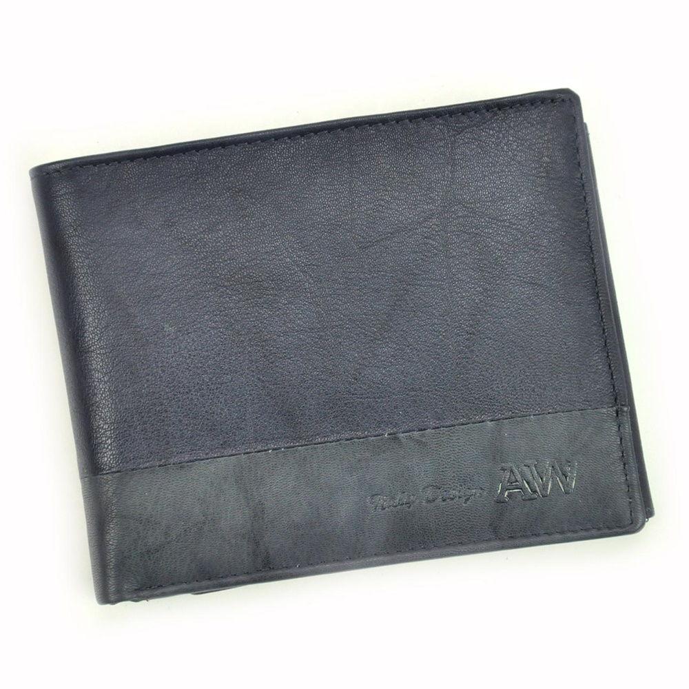 Pánská kožená peněženka Always Wild N992-GA + RFID tmavěmodrá   KabelkyproVas.cz