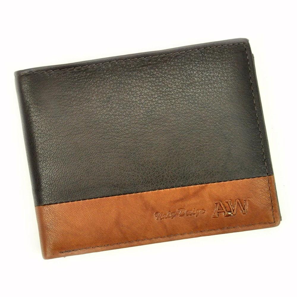 Pánská kožená peněženka Always Wild N992-GA + RFID hnědá   KabelkyproVas.cz