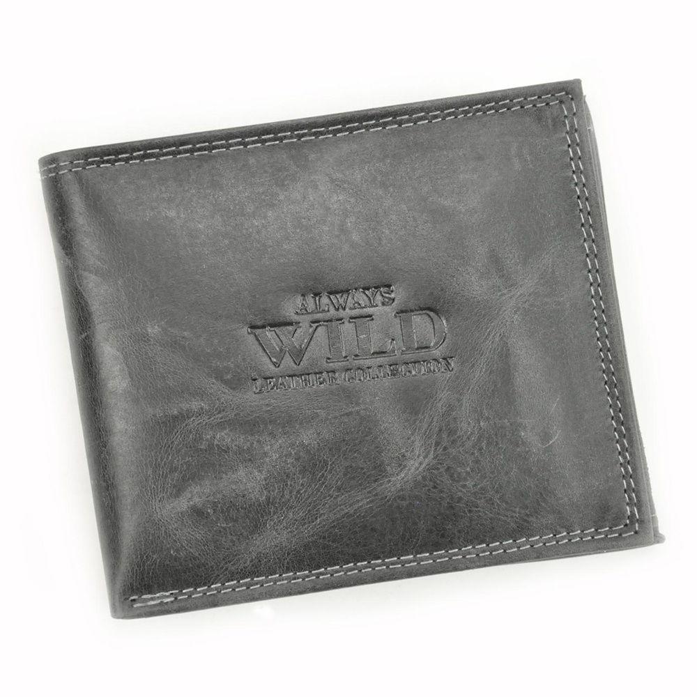 Dámská kožená peněženka Always Wild N992-CHM + RFID černá   KabelkyproVas.cz