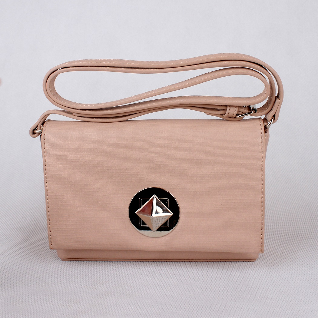 Malá crossbody kabelka David Jones CM3392 růžová