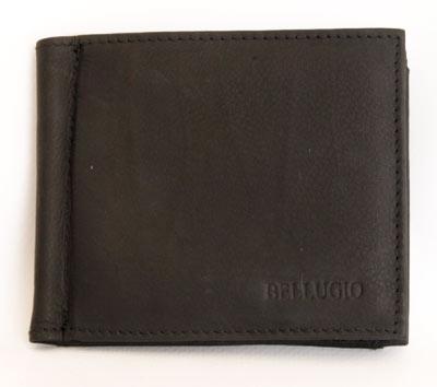 Kožená pánská peněženka Bellugio tmavěhnědá dolarovka