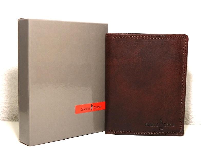 Kožená panská peněženka Gianni Conti hnědá no. 1077219