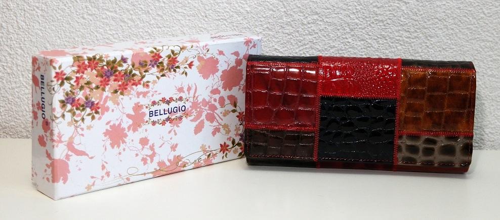 Kožená dámská peněženka BELLUGIO vícebarevná