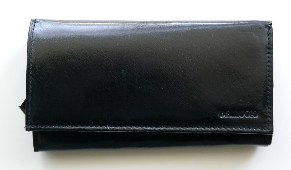 Kožená pánská peněženka BELLUGIO černá