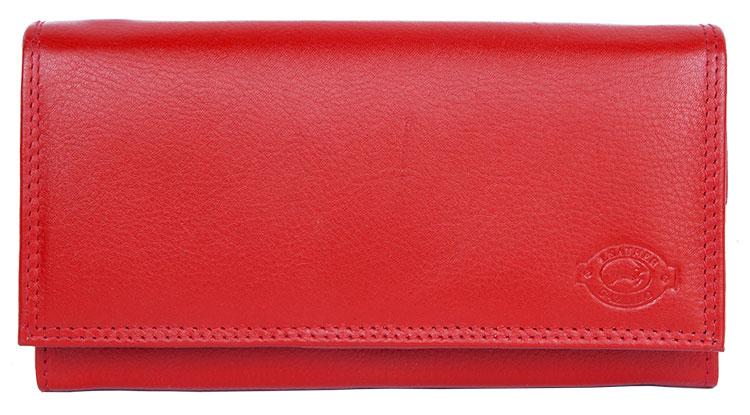 Kožená dámská peněženka Gazello červená