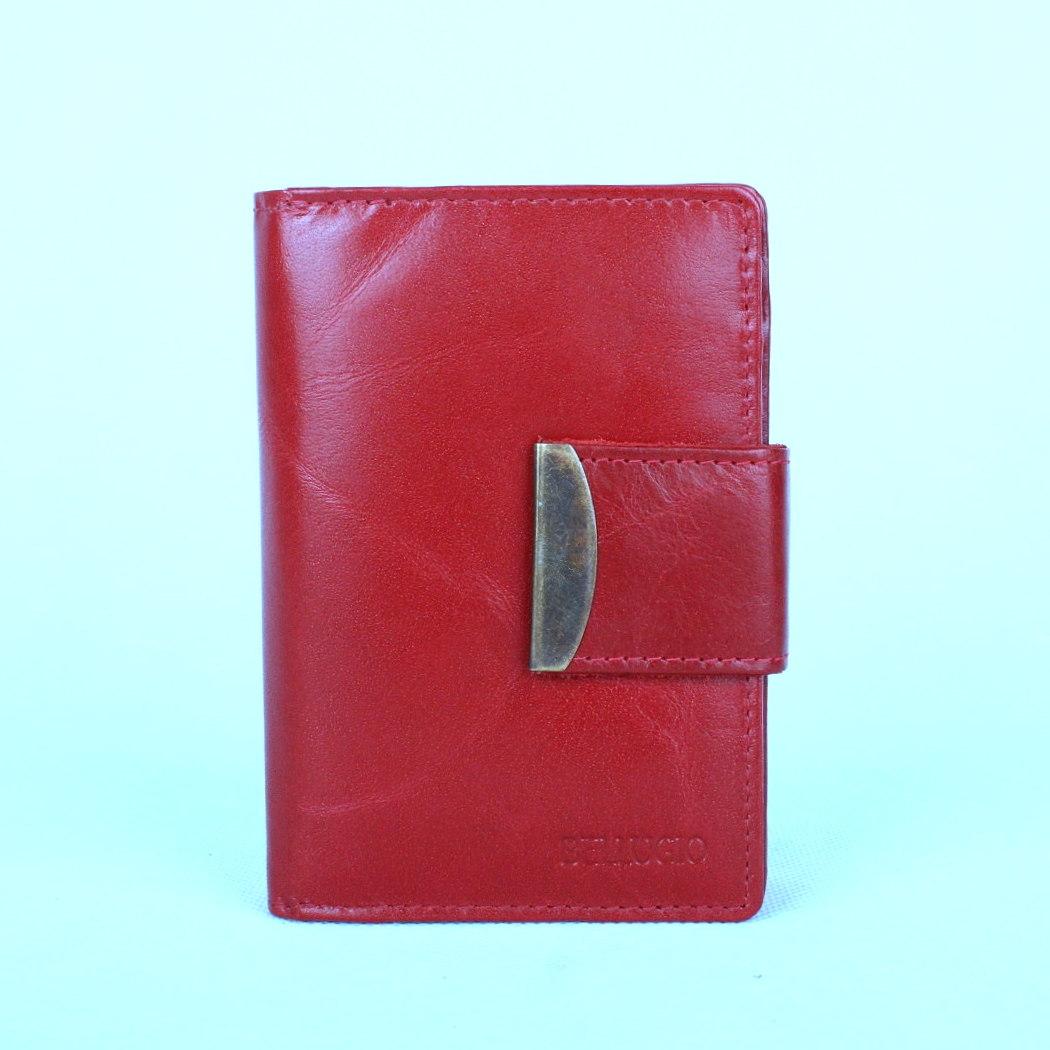 Kožená dámská peněženka Bellugio tmavěčervená | KabelkyproVas.cz
