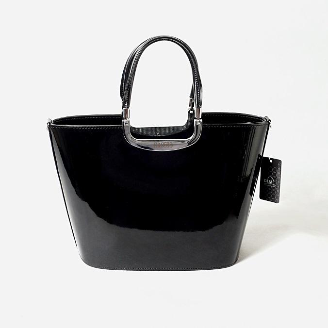 Grosso S7 černá hladká lesklá