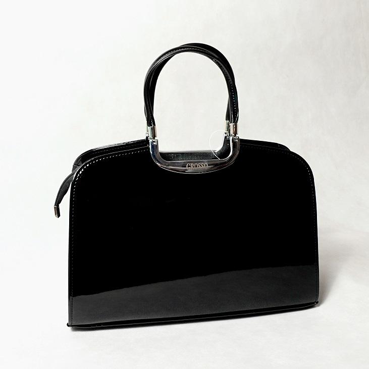 Grosso S6 černá hladká lesklá
