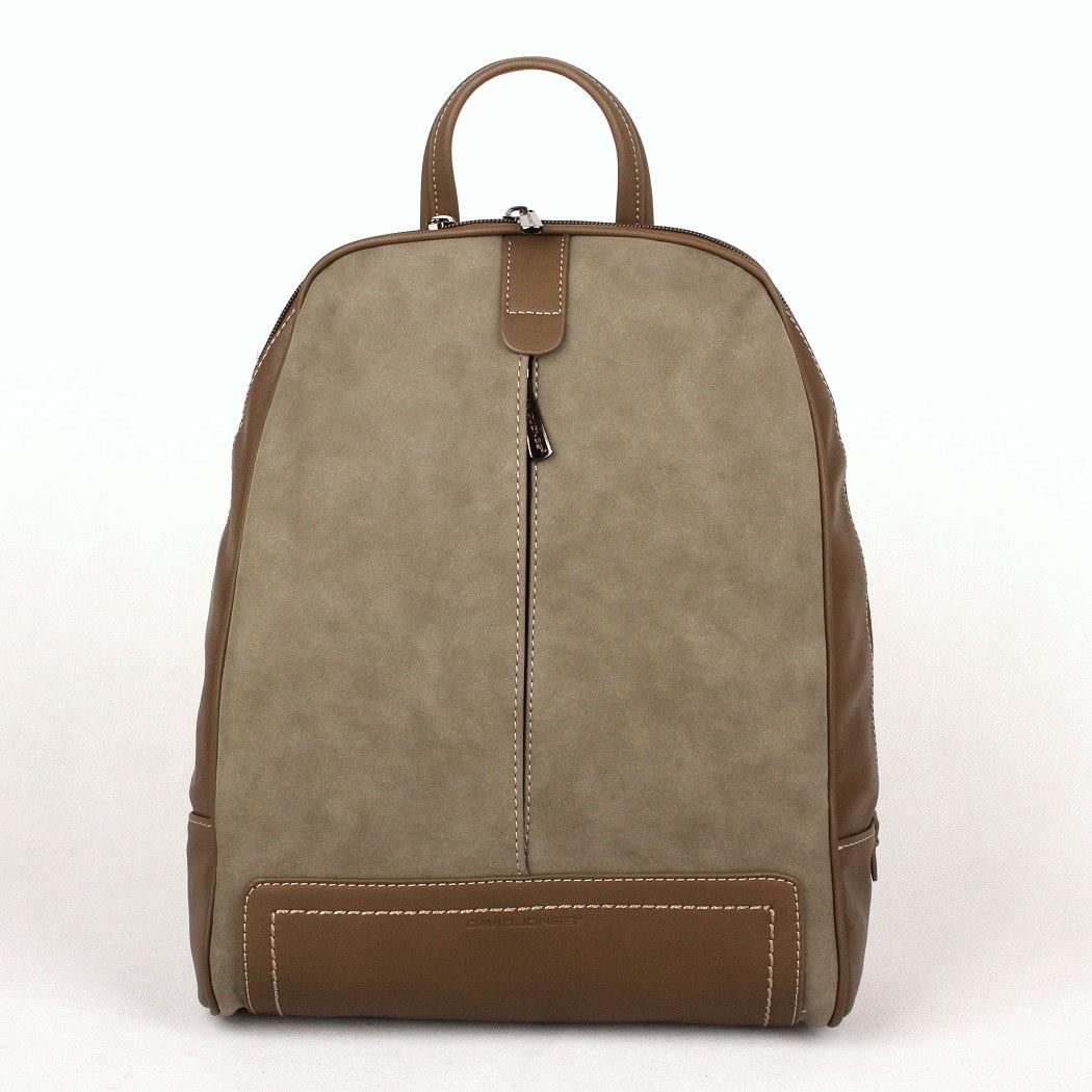 Dámský městský batoh David Jones CM3556 khaki | KabelkyproVas.cz