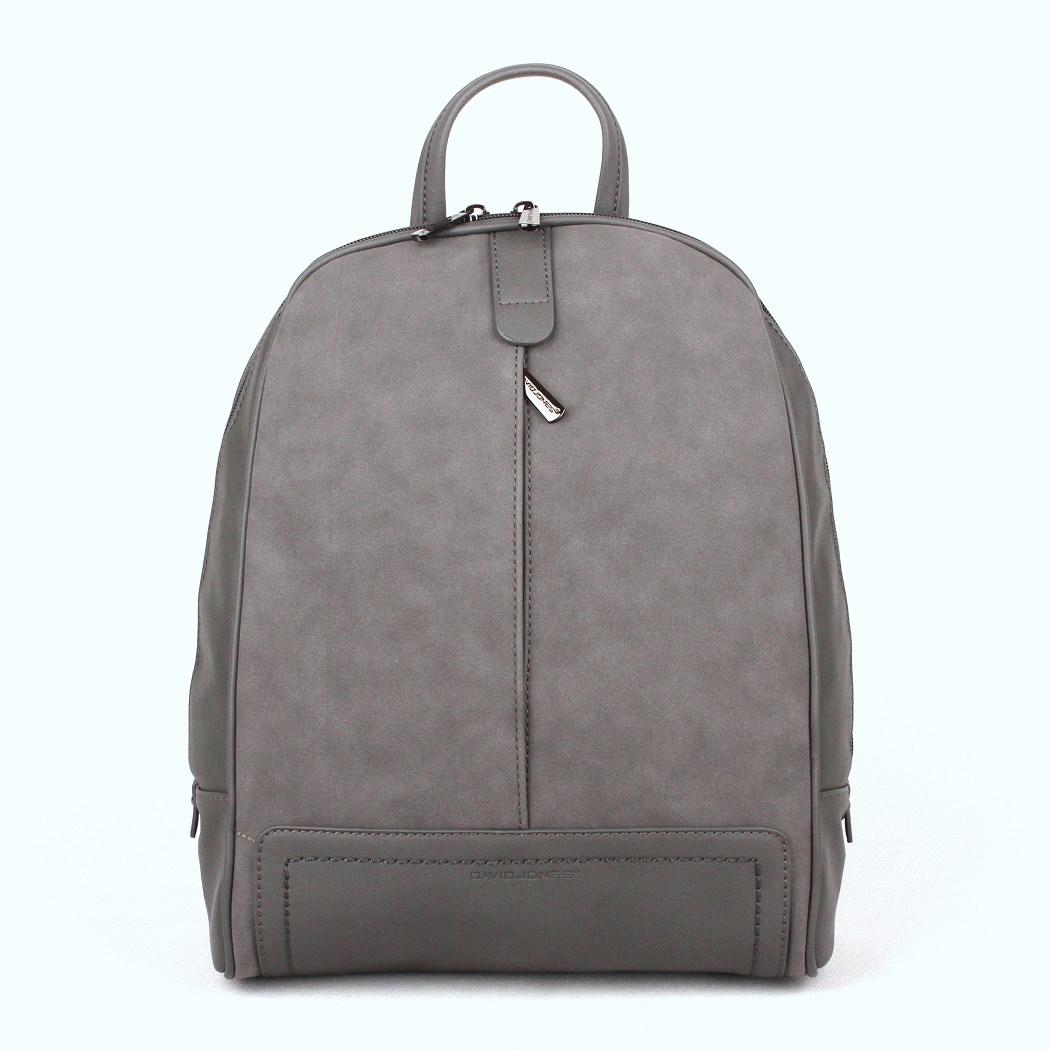 Dámský městský batoh David Jones CM3556 šedý | KabelkyproVas.cz