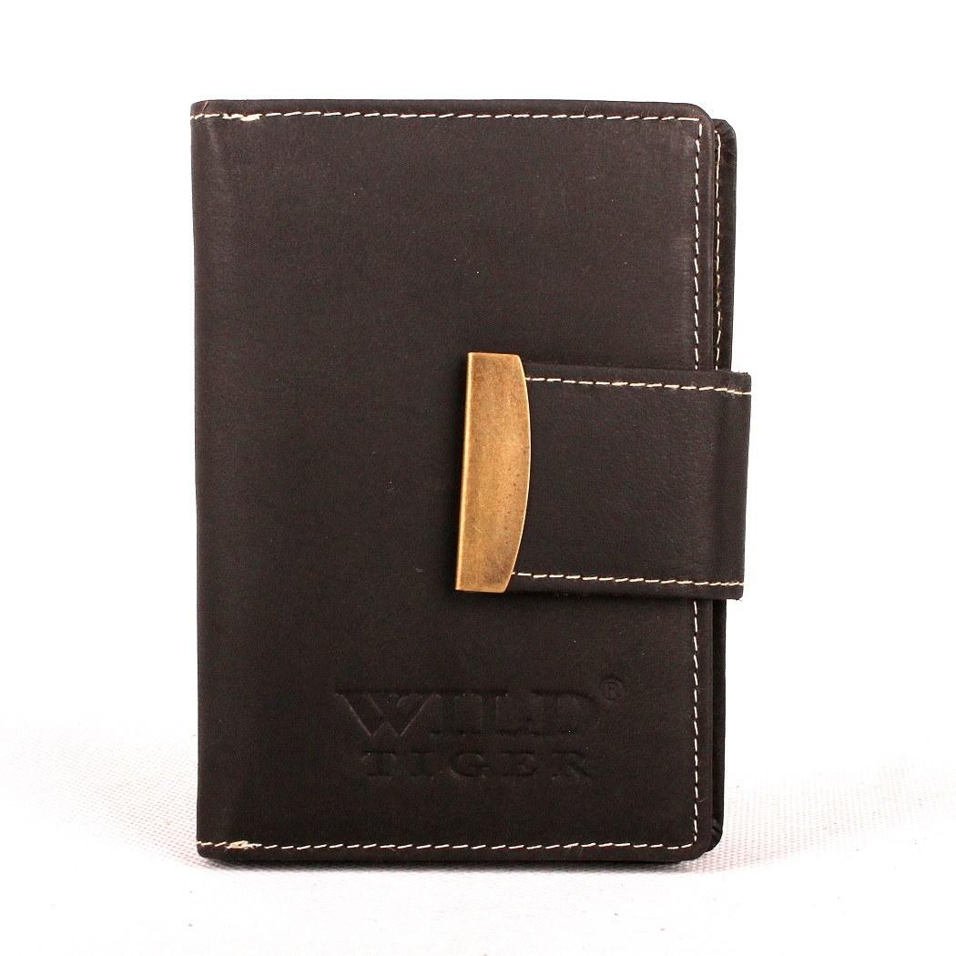 80d9f6c76fe Dámská kožená peněženka Wild Tiger černá