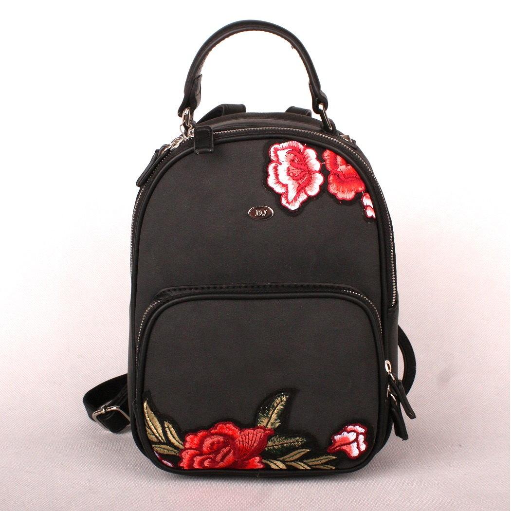 d21ba56cc Městský batoh David Jones 5645-2 černý | KabelkyproVas.cz