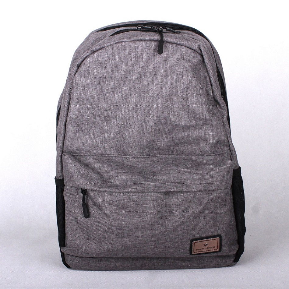Dámský batoh David Jones PC-023 šedý s obsahem cca. 22l | KabelkyproVas.cz