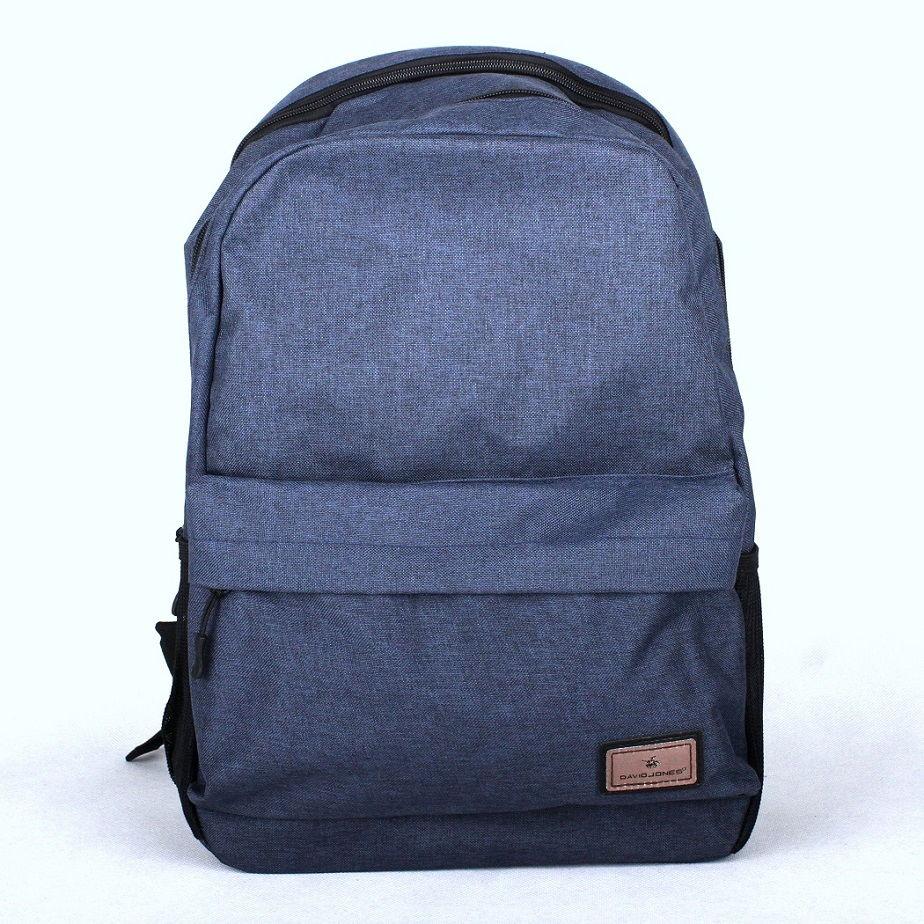 Dámský batoh David Jones PC-023 modrý s obsahem cca. 22l | KabelkyproVas.cz