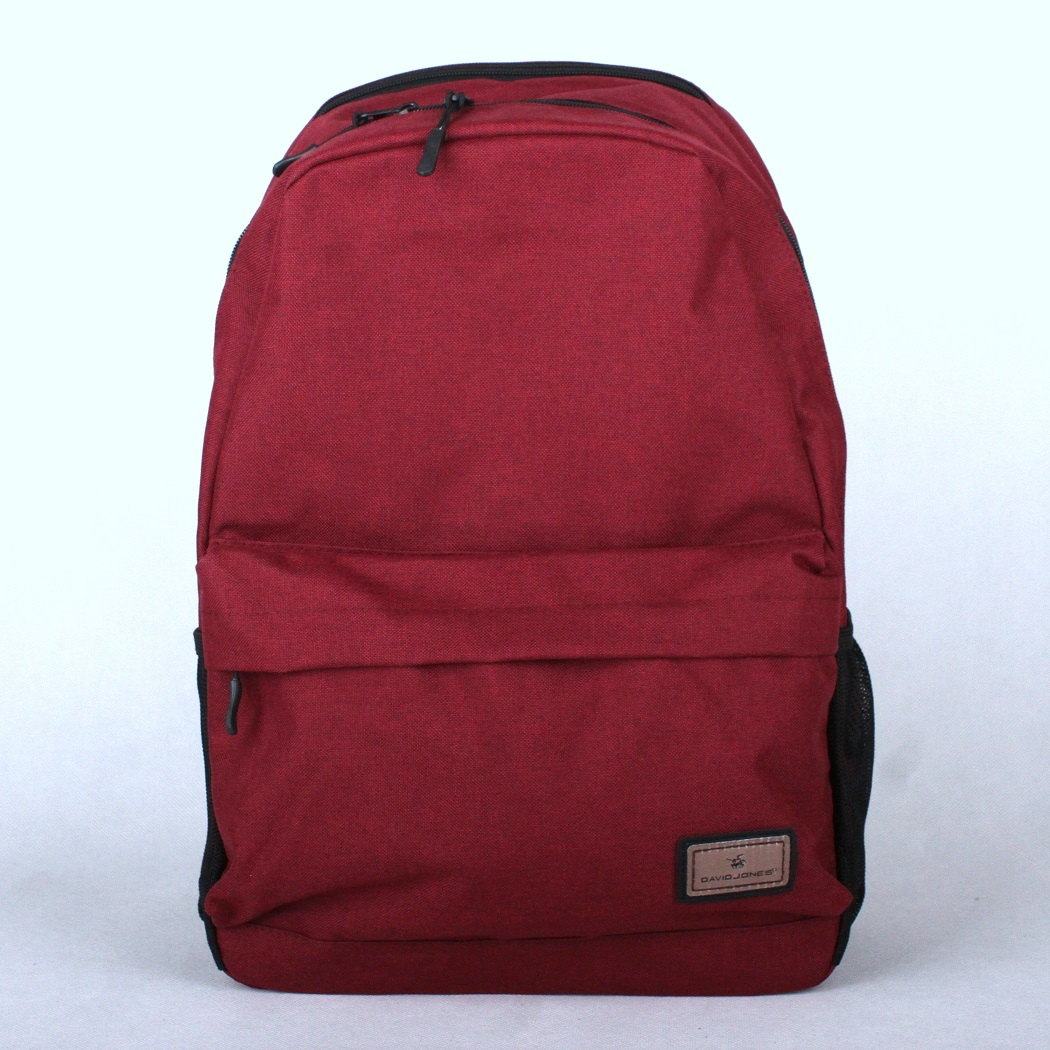 Dámský batoh David Jones PC-023 tmavěčervený s obsahem cca. 22l | KabelkyproVas.cz