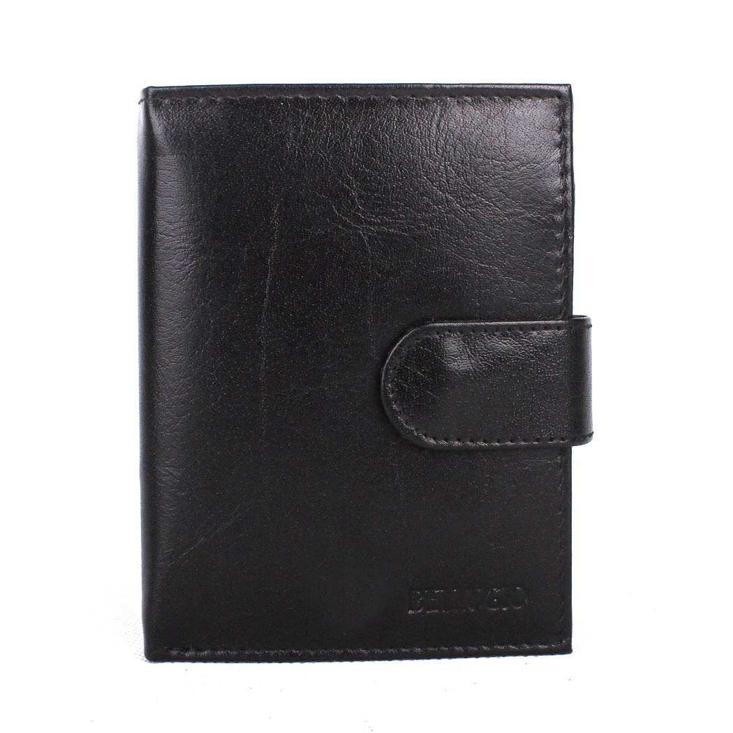 Pánská kožená peněženka Bellugio (AM-01-072A) černá | KabelkyproVas.cz