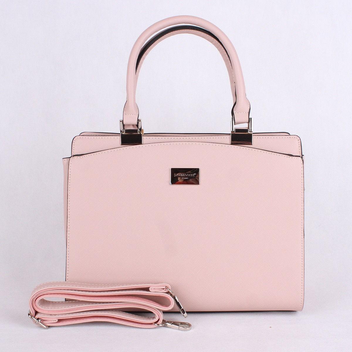 Elegantní kabelka FLORA&CO F6346 světlerůžová