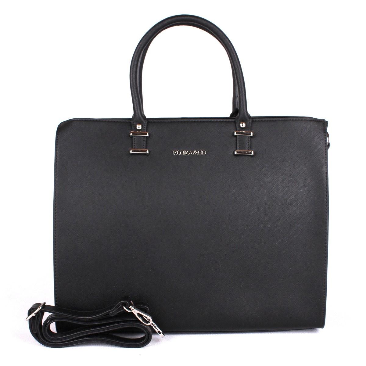 Elegantní kabelka FLORA&CO F9238 černá