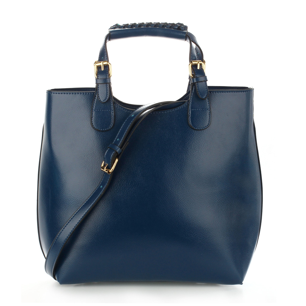 Shopperbag kabelka do ruky LS00267 modrá
