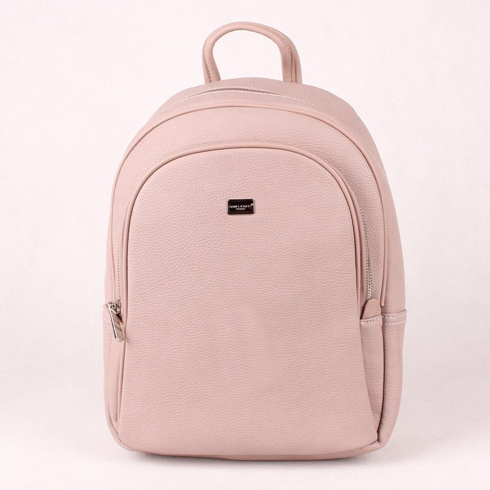 7a64846011 Středně velký městský batoh DAVID JONES CM5025 růžový