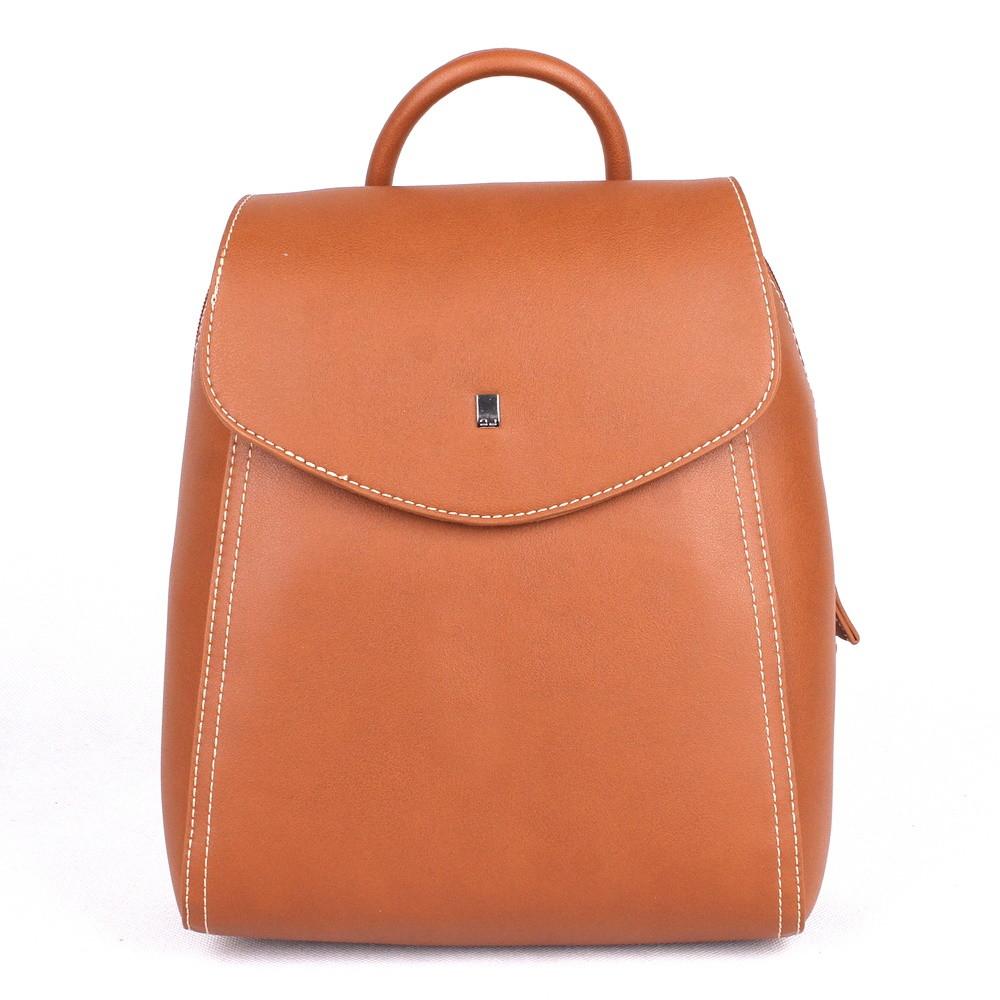 4ac839c73 Malý městský batoh David Jones CM5184 hnědý, obsah 5l