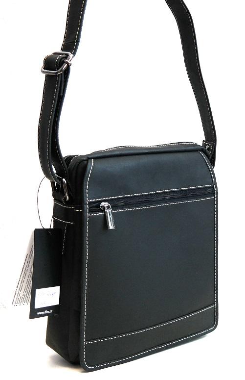 Kožená taška Sanchez no. 664 černá
