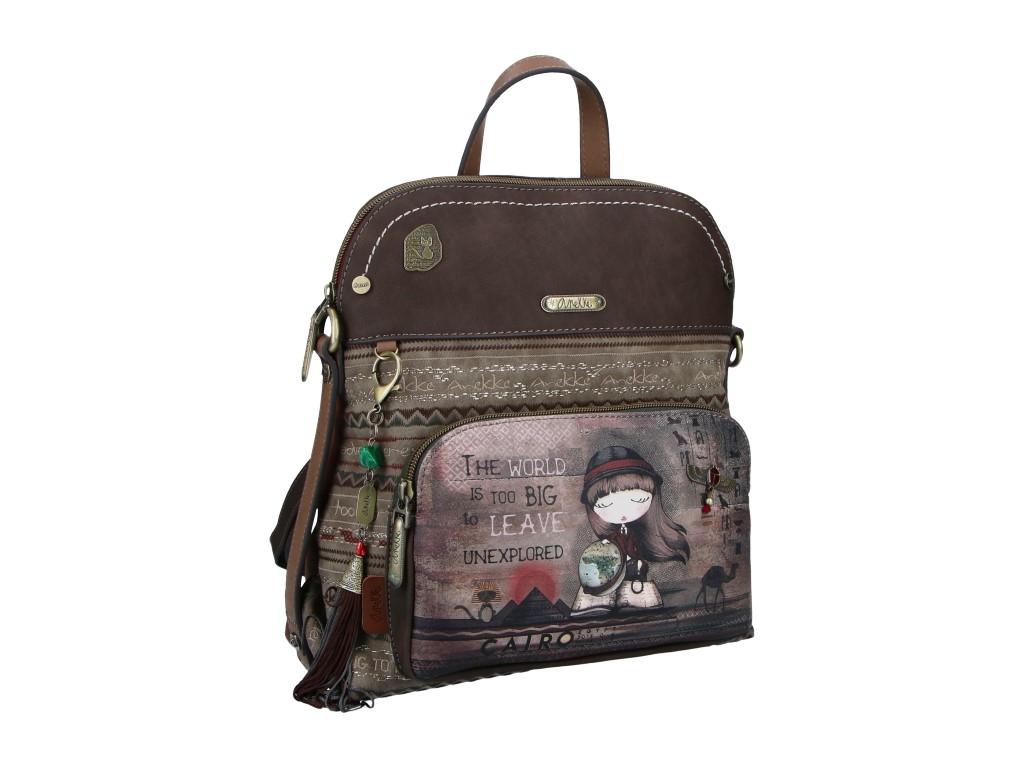 Anekke Egypt batůžek s kapsou v motivu Exploradora