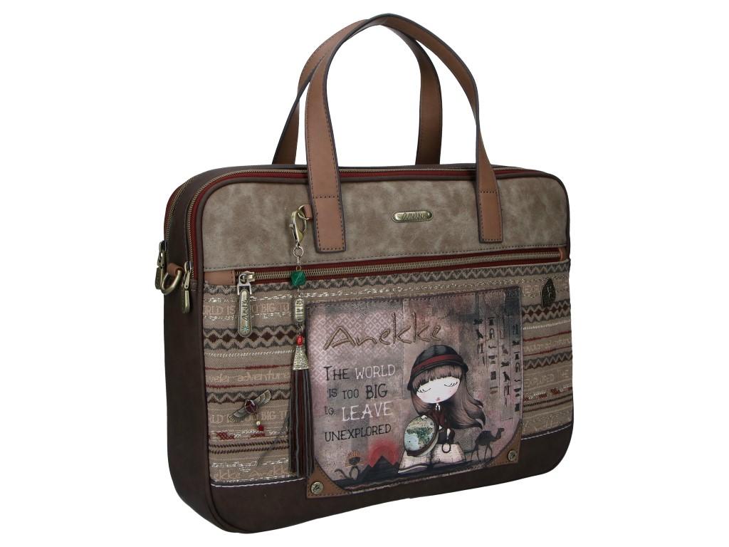 Anekke Egypt designová taška na laptop s motivem Exploradora